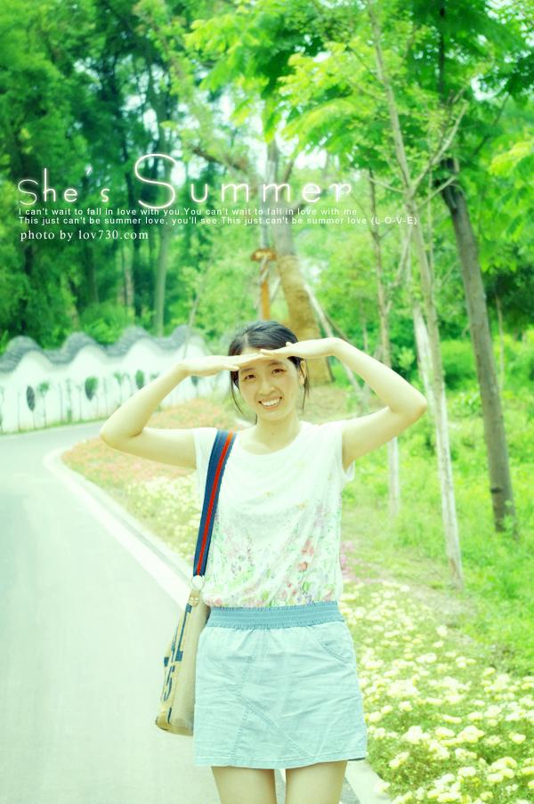 双陈记情侣博客-陈小燕she's summer